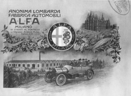 Logos de coches: ALFA (1910)