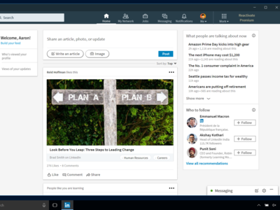 LinkedIn estrena una aplicación especial para Windows 10