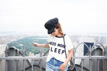 Gucci, sus gorras y númerosas portadas causan efecto. ¡Las blogueras comienzan a lucirlas!