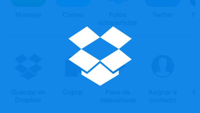 Dropbox iOS™ 8