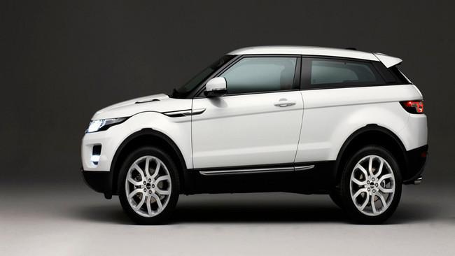 Land Rover Evoque deformado