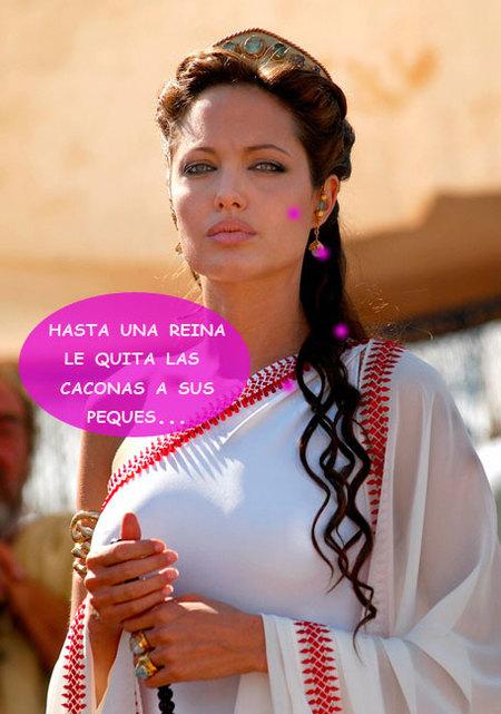 Angelina Jolie no se puede subir a la parra: las cacas de sus peques pesan demasiado
