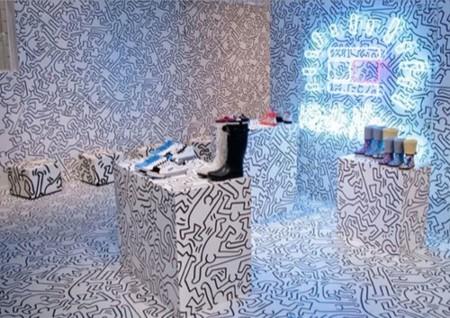 Tommy Hilfiger cuenta con Keith Haring para diseñar sus nuevas zapatillas