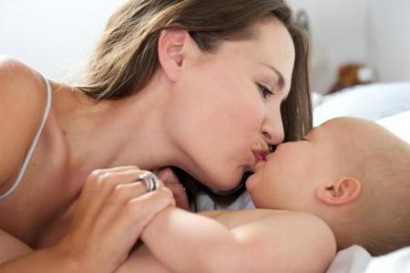 Besos a los bebés