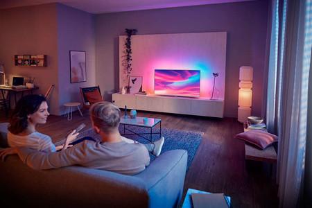 La smart TV Philips 58PUS7304/12 está rebajadísima en Amazon: Android TV, Dolby Vision, sonido Dolby Atmos por 669 euros