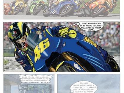 «Quarantasei», el cómic de Valentino Rossi, con Motociclismo