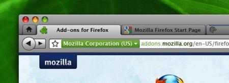 Llegan las primeras pruebas de la interfaz de Firefox 4 para Mac OS X