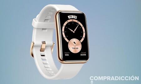 La versión más elegante del Huawei Watch Fit está a su precio más bajo en las ofertas de septiembre de Amazon: estrena reloj por sólo 89 euros