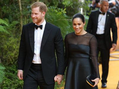 Meghan Markle se viste de fiesta para el estreno de 'El rey León' en Londres (y coincide con Beyoncé)