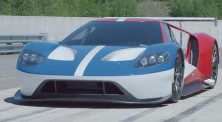 Las pruebas secretas del nuevo Ford GT de carreras (y su grandioso sonido)