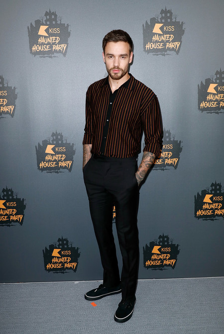 Liam Payne Revive Los Looks Inspirados En Los Anos Cincuenta Kiss Haunted House Ball 2018 3