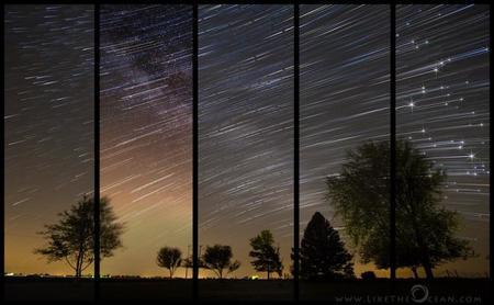 Crear espectaculares 'starscapes' o cómo ser creativo bajo la lluvia de estrellas