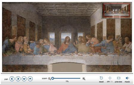 La última cena en 16 gigapíxeles