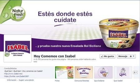 https://www.facebook.com/Hoy.comemos.con.Isabel