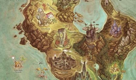 ¿Quién no querría perderse por este mapa?