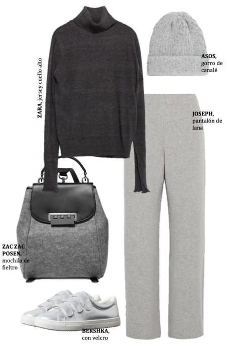 Outfit Color Gris