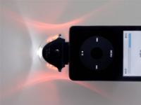Lumi Flasher, iPod a juego con el árbol de Navidad