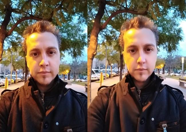 Selfie Nocturno Meizu M6 Note