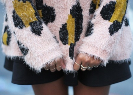 Duelo de estilos: el leopardo más achuchable en forma de jersey