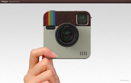 Socialmatic, un prototipo de cámara para Instagram