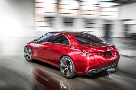 Mercedes Benz A Sedan Concept 4