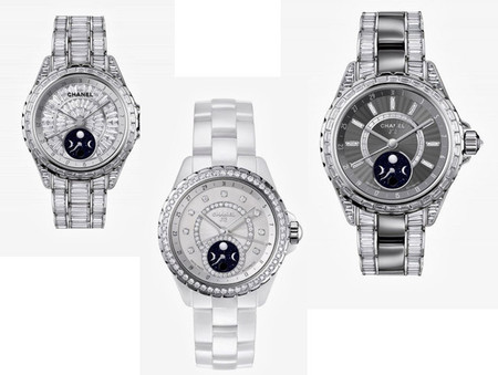 El nuevo J12 Moonphase de Chanel, para acercarnos la luna