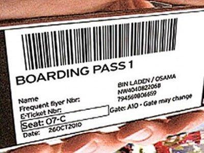 British prueba la nueva tarjeta de embarque para móviles... con Bin Laden