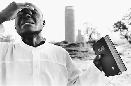 Informal Church Service Hillbrow Johannesburg 2003