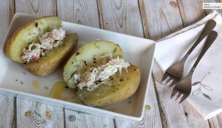 Cómo cocer patatas en el microondas (para que te queden perfectas en 10 minutos)