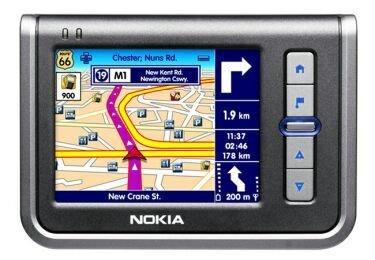 Nokia 330, navegador GPS