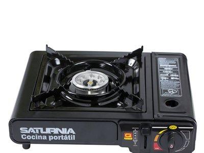 Puedes cocinar en cualquier parte con la cocina de gas portátil Saturnia 08140125: cuesta 12,02 euros en Amazon