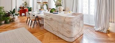 Alerta a esta nueva tendencia para la cocina; las formas curvas llegan a las islas y a los muebles de cocina