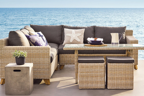 Todavía estás a tiempo de crear la terraza de tus sueños con las rebajas de El Corte Inglés en muebles y accesorios de exterior