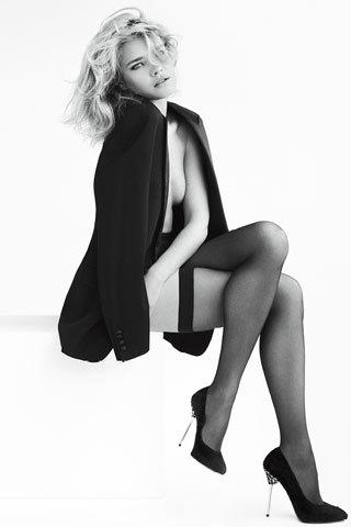 Natalia Vodianova como imagen de Stuart Weitzman