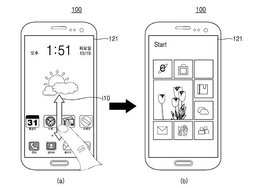 Foto de Patente Samsung (1/9)