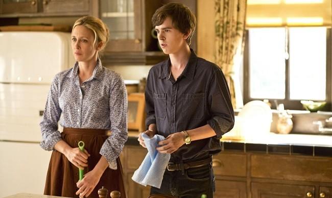 Imagen de los protagonistas de 'Bates Motel'