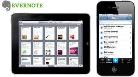 Descubrimos las novedades de Evernote para iOS