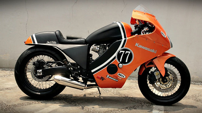 Kawasaki GPZ600 Studio Motor