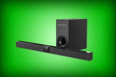 Barra de sonido y subwoofer Audiobahn con descuento en Walmart: radio FM y Bluetooth por 1,139 pesos
