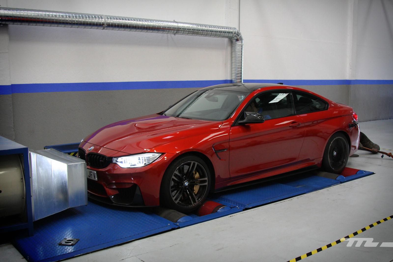 Foto de BMW M4 Performance (prueba en banco de potencia) (34/40)