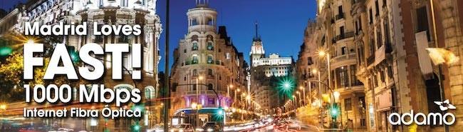 Los 1.000 megas de bajada con fibra llegan a Madrid de la mano de un (casi) desconocido