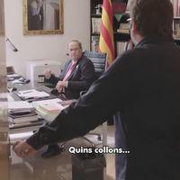 """Lo de Cataluña ya se ha convertido en un capítulo de The Office: Quim Torra y su """"quins collons"""""""