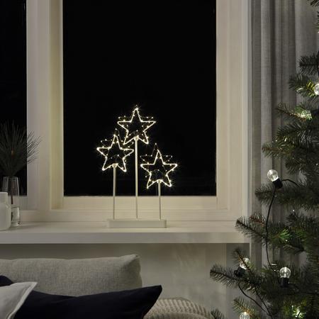 Estrellas de luz Navidad Ikea