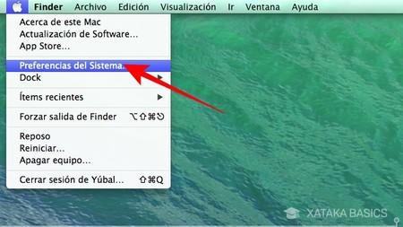 Haz Click En La Opcion Preferencias Del Sistema