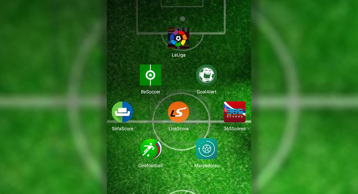 7 apps alternativas para seguir los resultados de La Liga