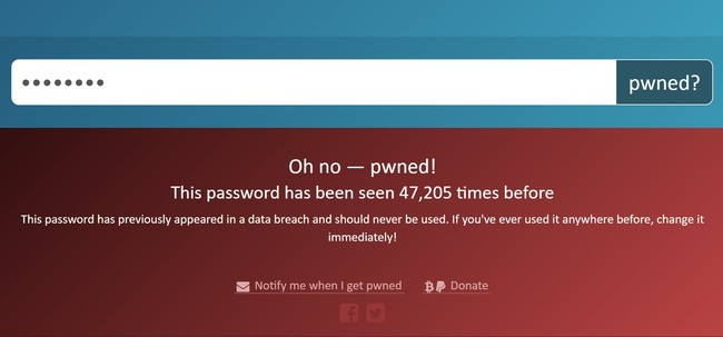 Searching For A Pwned Password