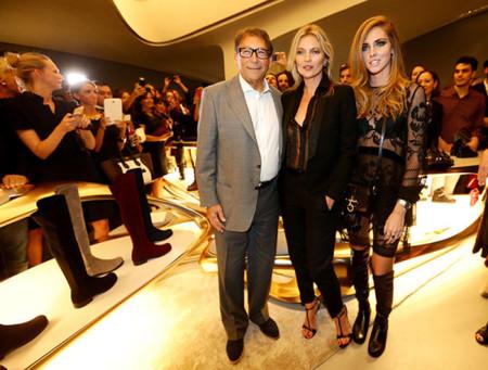 Chiara Ferragni y Kate Moss, el arte de salir en la foto
