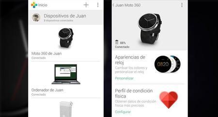 Motorola Conect se actualiza con nuevas caras para el Moto 360