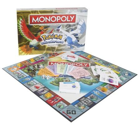 El mapa de Johto de Pokémon se adapta al Monopoly