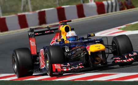 Sebastian Vettel Barcelona 2012